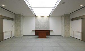 枚方市立やすらぎの杜 告別室