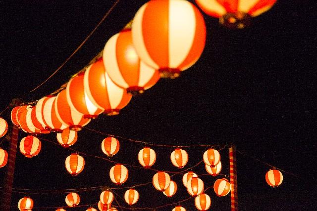 夏祭り・提灯・盆踊り