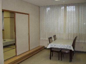 茨木市立斎場 第2親族控室