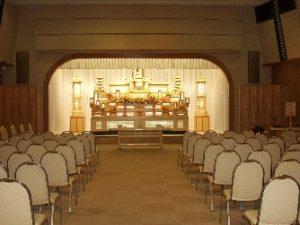 茨木市立斎場 第2告別式場