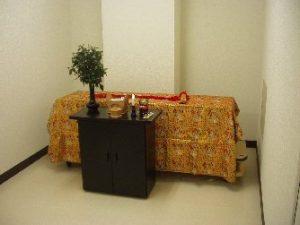 茨木市立斎場 霊安室