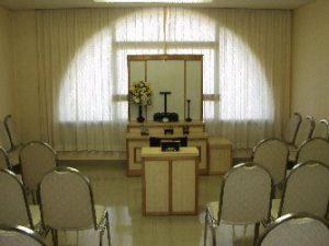 初七日・十日祭の部屋(第1・2法要室)