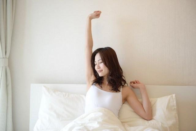 快適な眠りとスッキリした目覚めには