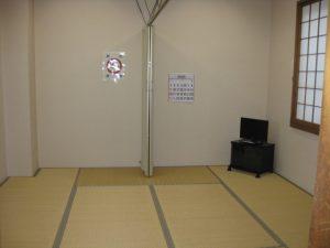 広域飯能斎場 遺族控室