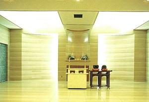 松本市営葬祭センター 告別室